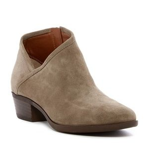 Lucky Brand Brekke Suede Ankle Bootie